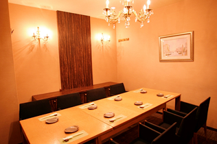Luxurious private rooms