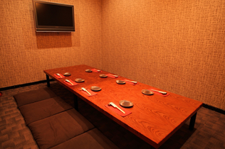 Child-friendly private Tatami rooms